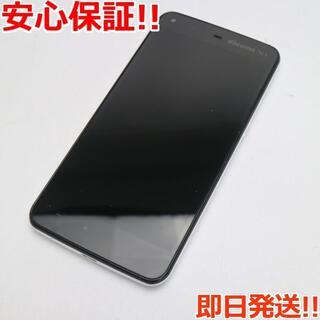 アクオス(AQUOS)の美品 SH-01F AQUOS PHONE ZETA ホワイト (スマートフォン本体)