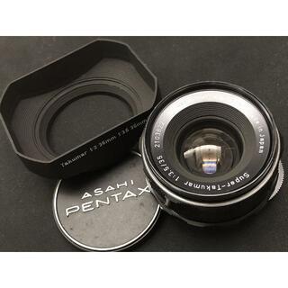 PENTAX - 848 Super-Takumar 35mm F3.5 M42 オールドレンズ