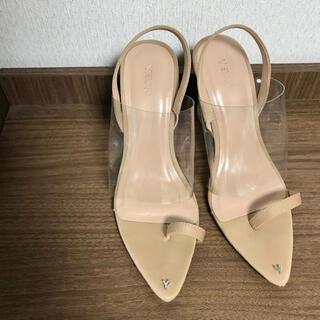 アリシアスタン(ALEXIA STAM)のYELLO shoes  yello イエロー クリア サンダル パンプス(ハイヒール/パンプス)