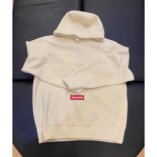 シュプリーム(Supreme)のSupreme × Polartec Hooded Natural  M(パーカー)