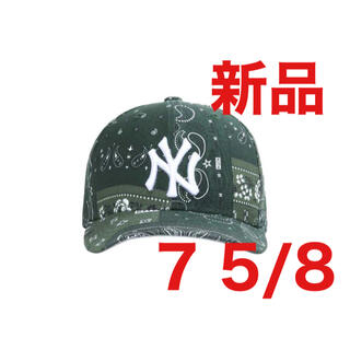 NEW ERA - KITH X NEW ERA YANKEES バンダナ 7 5/8