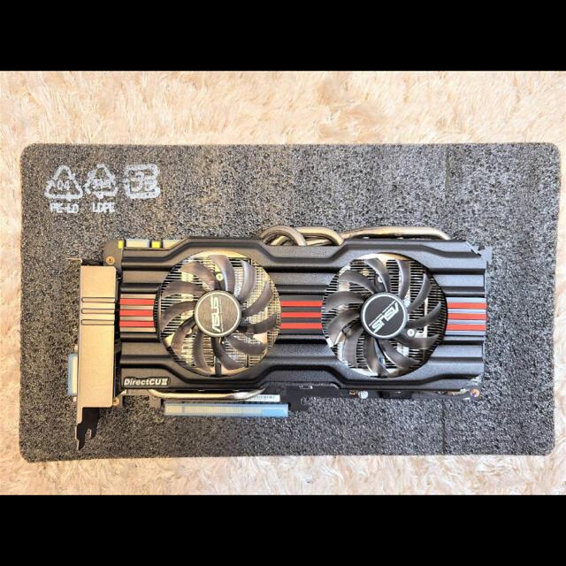 ASUS(エイスース)のASUS Geforce GTX770 DC2OC-2GD5 スマホ/家電/カメラのPC/タブレット(PCパーツ)の商品写真