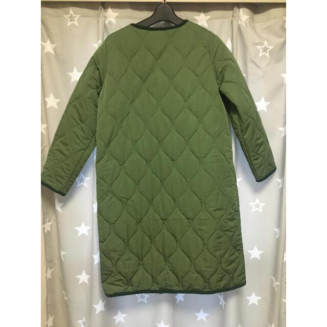 キルティングコート レディースのジャケット/アウター(ロングコート)の商品写真