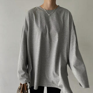 TODAYFUL - willfully s/s side cut generous long T