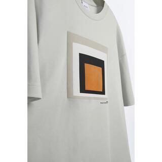 ZARA - 【匿名配送】【ZARA】グラフィックプリントルーズフィットTシャツ