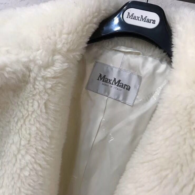 Max Mara(マックスマーラ)のMax Mara マックスマーラ テディベア コート S レディースのジャケット/アウター(毛皮/ファーコート)の商品写真