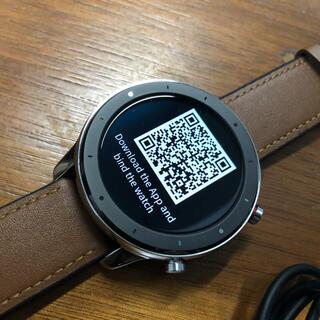 アンドロイド(ANDROID)の美品 Amazfit GTR 47mmスマートウォッチHuami(腕時計(デジタル))