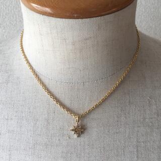 ゴールド クリスタル 太陽神ネックレス 40cm ロンハーマン サタデーズサーフ