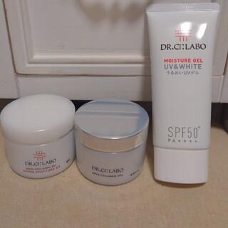 ドクターシーラボ(Dr.Ci Labo)のドクターシーラボ オールインワンゲル&日焼け止めクリーム 3点セット(オールインワン化粧品)