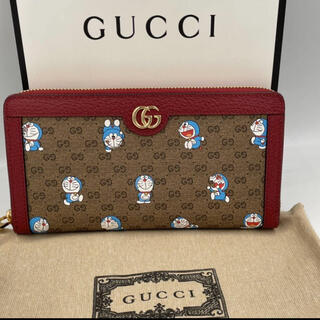 グッチ(Gucci)の【未使用品】2021年限定品 GUCCI ドラえもんコラボ 長財布レディース (財布)