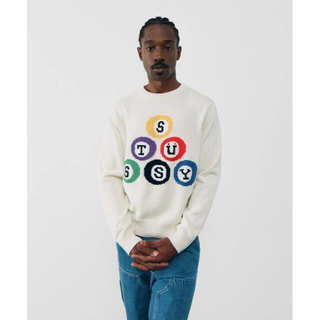 STUSSY - サイズ XL Stussy billiard sweater