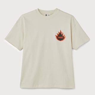 エイチアンドエム(H&M)のBLACK EYE PATCHコラボTシャツ(Tシャツ/カットソー(半袖/袖なし))