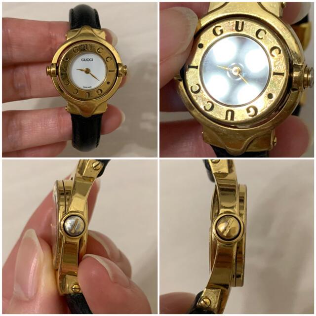Gucci(グッチ)の【稼働品】GUCCI◆6600L バングルウォッチ レディースのファッション小物(腕時計)の商品写真