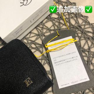 ✅追加画像✅ebagos エバゴス キップ型押しレザー ファスナー長財布 (財布)