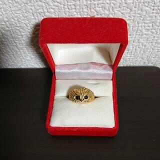 指輪 フクロウ デザイン指輪
