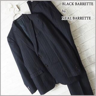 ブラックバレットバイニールバレット(BLACKBARRETT by NEIL BARRETT)の美品【Blackbarrett by NeilBarrett】セットアップ(セットアップ)