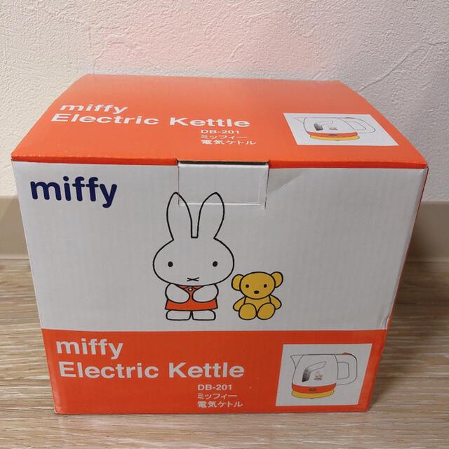 ミッフィー電気ケトル0.8L スマホ/家電/カメラの生活家電(電気ケトル)の商品写真