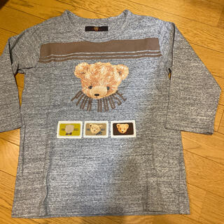 PINK HOUSE - ピンクハウス♡テディプリント、ワッペン付き7分袖カットソー❣️
