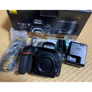 Nikon - 中古美品 NIKON D750 ボディ