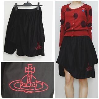 ヴィヴィアンウエストウッド(Vivienne Westwood)のヴィヴィアン 変形 スカート(ひざ丈スカート)