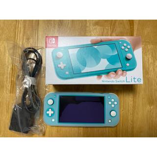 Nintendo Switch - 任天堂スイッチ ライト 本体 美品