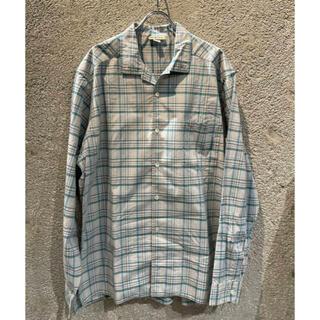 SA FR IN /コットンオープンカラーシャツ
