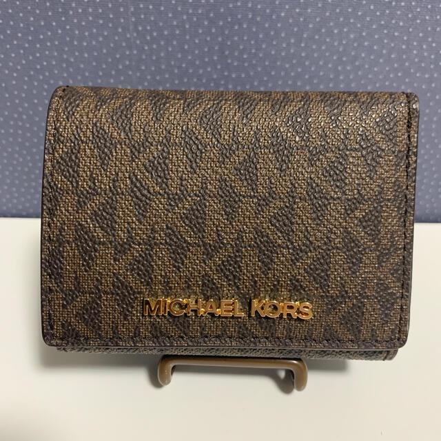 Michael Kors(マイケルコース)のマイケルコース 三つ折り財布 レディースのファッション小物(財布)の商品写真