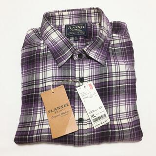ユニクロ(UNIQLO)の【新品タグ付き】ユニクロ フランネルチェックシャツ(シャツ)