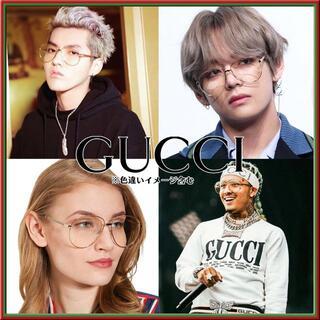 Gucci - 新品★本物★BTS,EXO他★GUCCI サングラス GG0138S 004