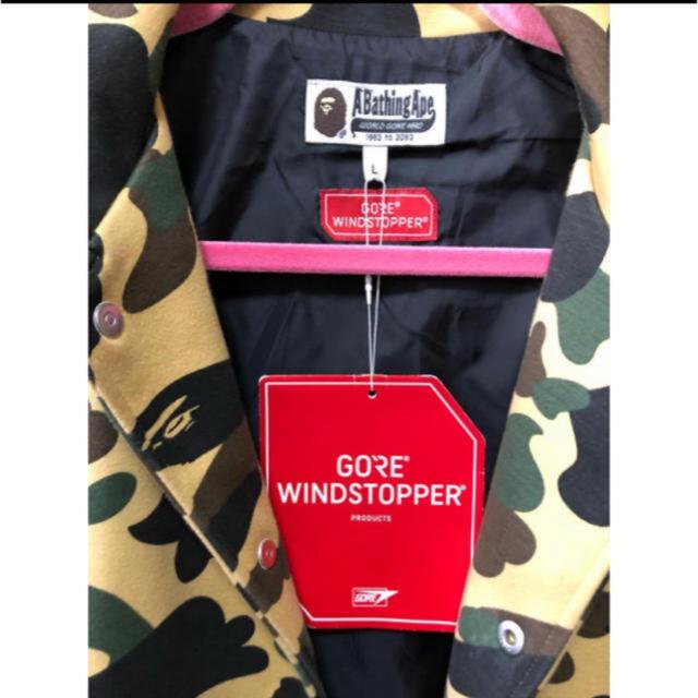 A BATHING APE(アベイシングエイプ)のエイプ カモフラ ジャンバー サルカモ 送料込み メンズのジャケット/アウター(ダウンジャケット)の商品写真