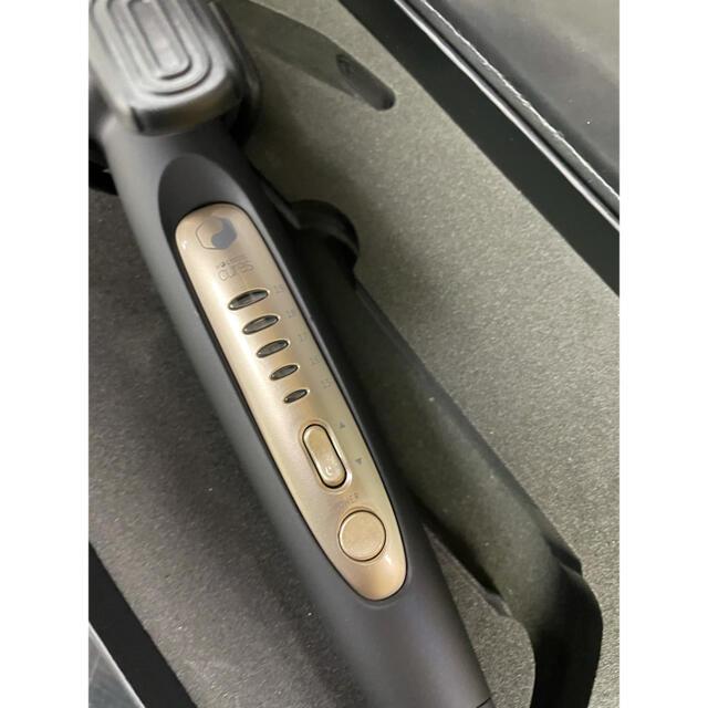 ホリスティックキュア カールアイロン 32mm CCIC-G72010B スマホ/家電/カメラの美容/健康(ヘアアイロン)の商品写真