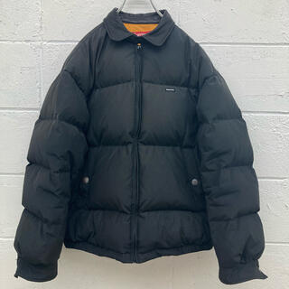 Supreme - Supreme Leather Collar Puffy Jacket ダウン