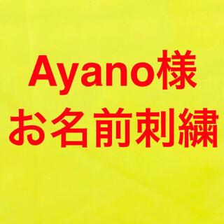 ayano様(お名前刺繍追加分)(バッグ/レッスンバッグ)