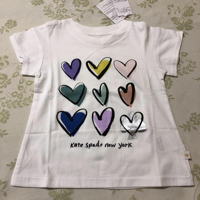 kate spade new york(ケイトスペードニューヨーク)のケイトスペードニューヨーク 半袖Tシャツ キッズ/ベビー/マタニティのキッズ服女の子用(90cm~)(Tシャツ/カットソー)の商品写真