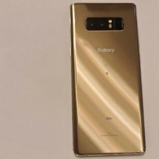 Galaxy Note8 ゴールド