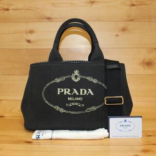 PRADA - 正規品【美品】PRADA カナパ チェック柄 2wayバッグ