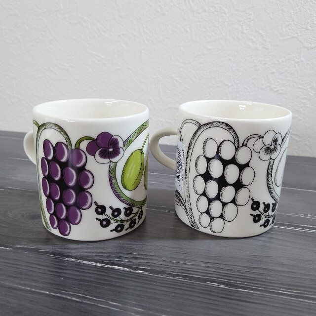 ARABIA(アラビア)のアラビア パラティッシ 240mlマグカップセット  インテリア/住まい/日用品のキッチン/食器(グラス/カップ)の商品写真