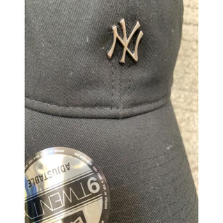 NEW ERA - NEW ERA ニューエラ シルバーロゴ ニューヨーク ヤンキース キャップ