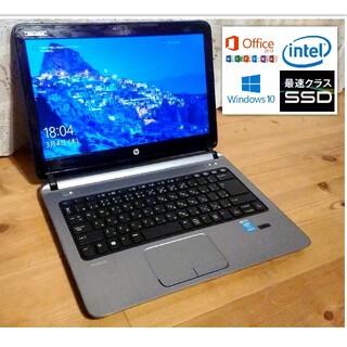 新品バッテリー・超速SSD&i3&オフィス!HP ProBook 430 G2