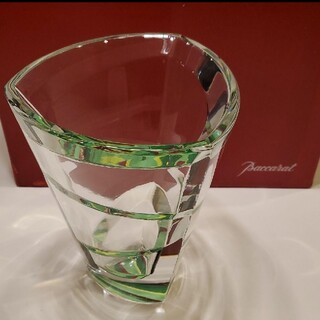 バカラ(Baccarat)の希少 バカラ フラワーベース カレイドスコープ 花瓶 Baccarat(花瓶)