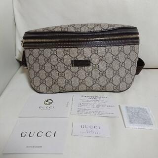Gucci - 超美品【グッチ 】ウエストポーチ ウエストバッグ ボディバッグ GGスプリーム
