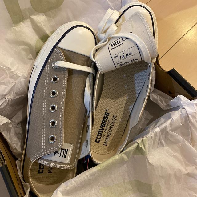 IENA(イエナ)の新品 マディソンブルー別注 スニーカー 24.0㎝ DRAWER BLAMINK レディースの靴/シューズ(スニーカー)の商品写真