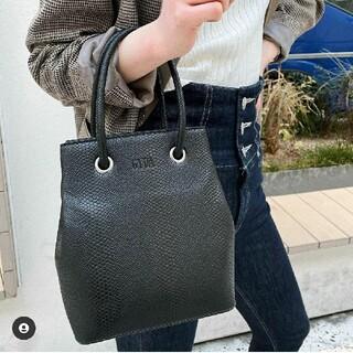ジェイダ(GYDA)のGYDA ジェイダ ノベルティ python mini bag(ハンドバッグ)