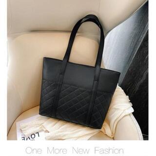 【ブラック】A4楽々サイズ 防水 トートバッグ 1