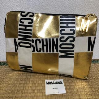 モスキーノ(MOSCHINO)のMOSCHINO  モスキーノ クラッチバッグ 最終価格(クラッチバッグ)