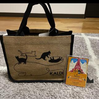 KALDI - KALDI猫の日バッグ&カレンダーのセット