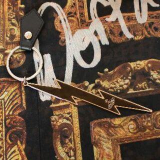 ヴィヴィアンウエストウッド(Vivienne Westwood)の新品 ヴィヴィアン 18ssTHUNDERBOLT キーリング(キーホルダー)