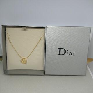 Christian Dior - CD116 未使用【Dior ディオール】ネックレス ストーン ゴールド