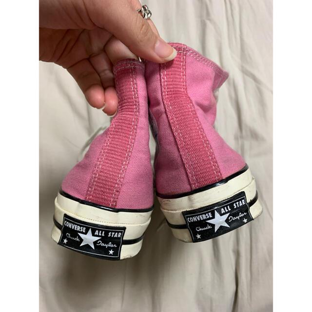 CONVERSE(コンバース)のconverse ct70 ピンク24.5cm レディースの靴/シューズ(スニーカー)の商品写真