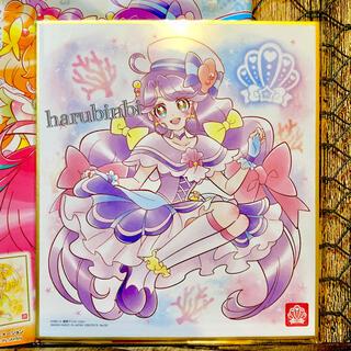 バンダイ(BANDAI)のキュアコーラル  プリキュア 色紙ART4 ノーマル 色紙アート4(印刷物)